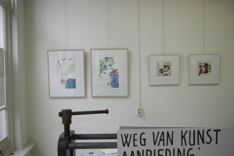 Weg van Kunst / Grafisch Atelier Kampen / 9 april 2010 / Groepstentoonstelling