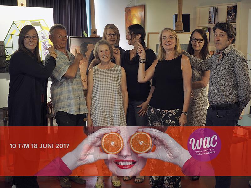In opdracht van bureau Kunstcircuit gaf pdbin de Leeuwenkuil in Deventereen VTS-sessie aan de hand van kunstwerken uit Galerie Kiek-Kus