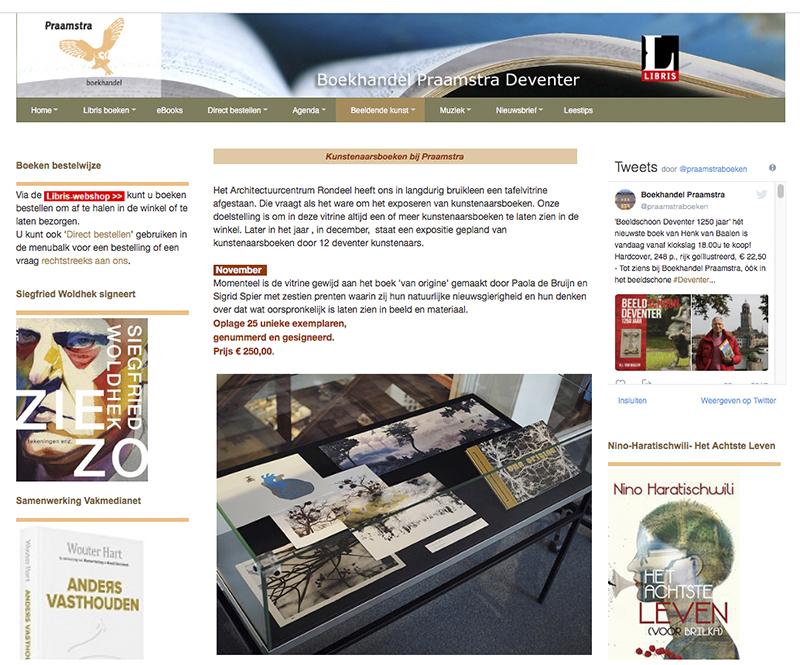 Boekhandel Praamstra website.web