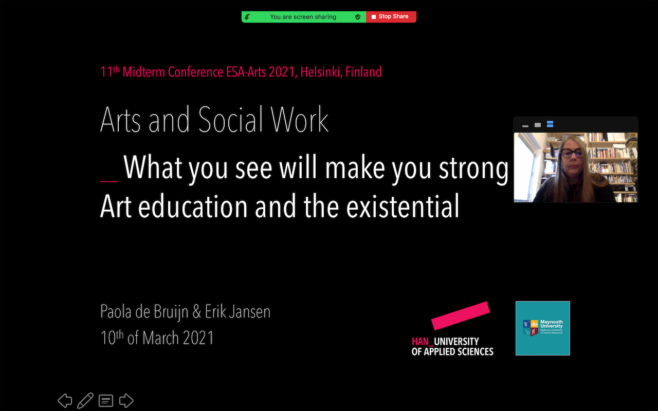 """ESA-ARTS 2021 'Social Effects of Art' 